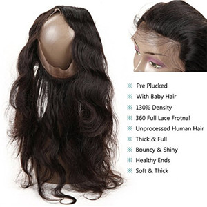 what is a 360 lace frontal