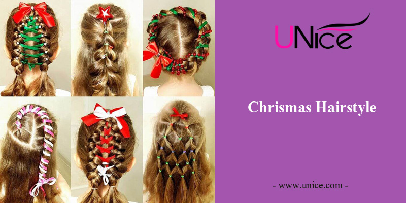Easy Chrismas hairstyles For You