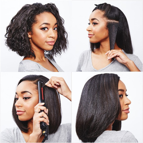 Complete Guide You Need To Know When You Straighten Curly