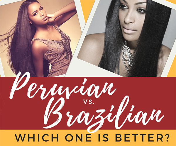 Virgin Brazilian VS Peruvian Hair
