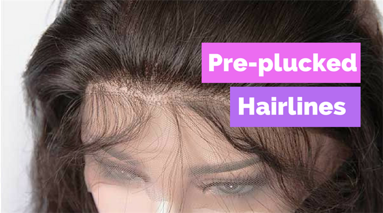 Pre-Plucked Wig