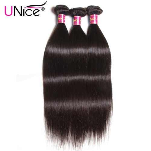 unice straight hair bundles