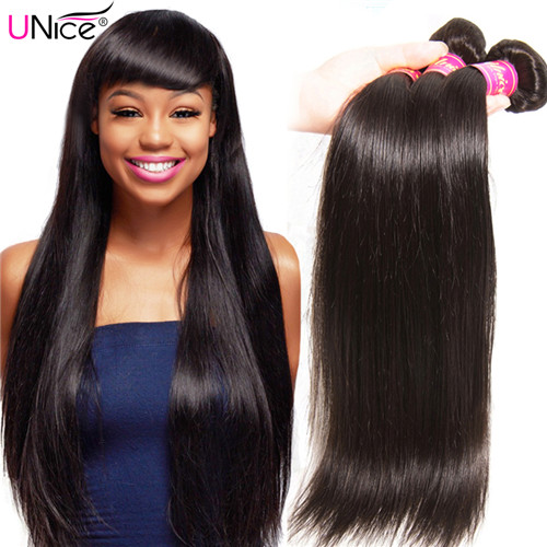 unice straight virgin hair