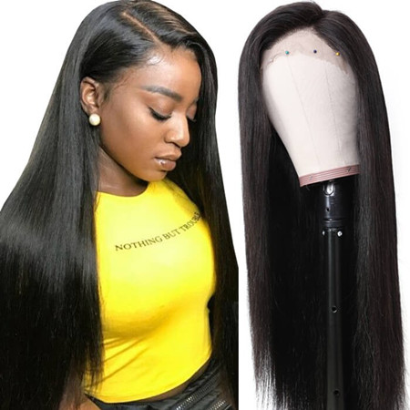 unice lace front wig human hair