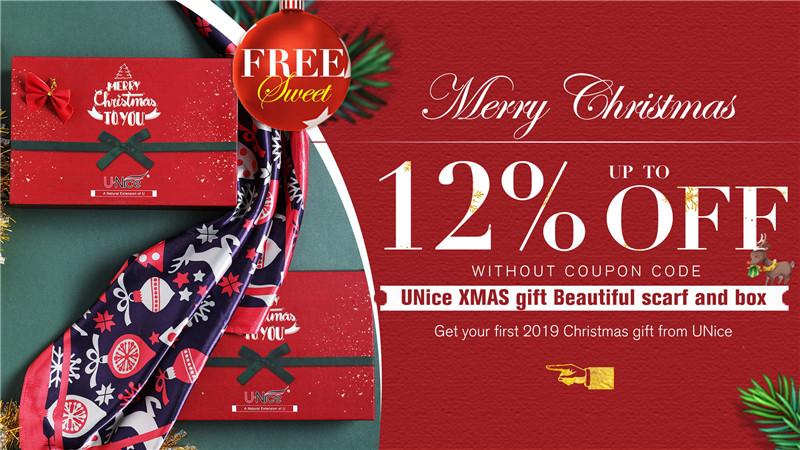 UNice Christmas Hair Sale