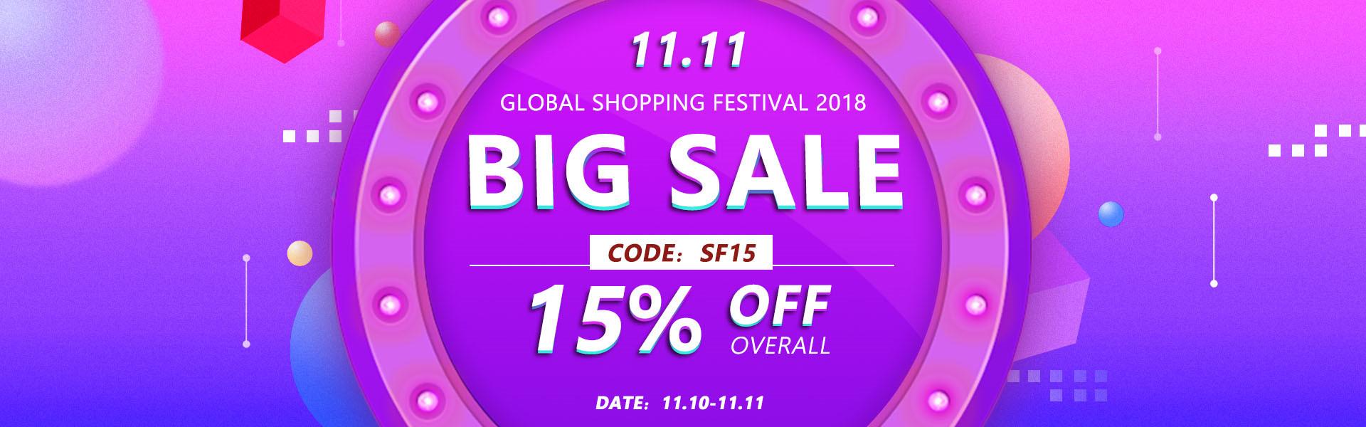 UNice 11.11 Big Hair Sale 2018