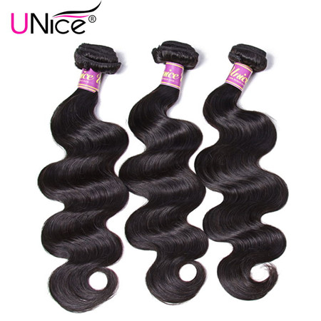 unice body wave hair bundles