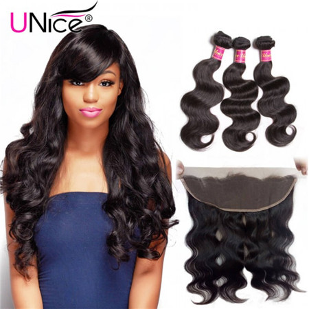 UNice body wave Frontal