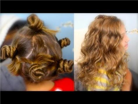 Creating Twist Curls