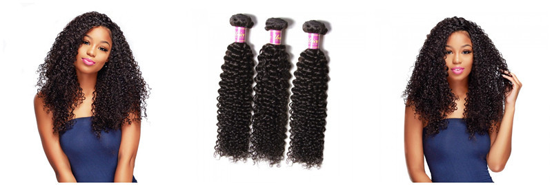 malaysian curly hair weave 3 bundles
