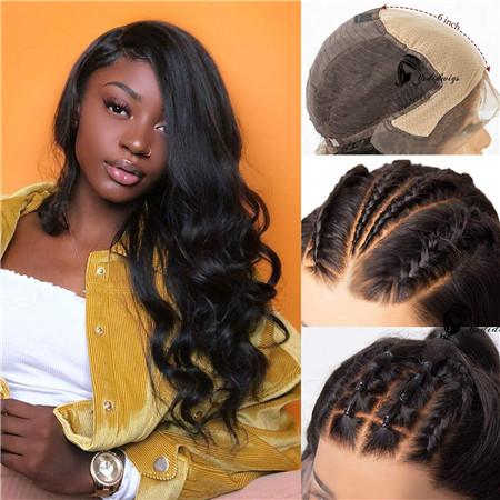 Fake Scalp Lace Wig