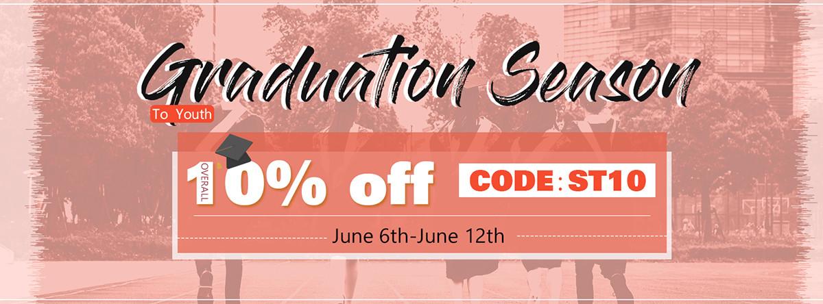 Graduation Season Big Hair Sale