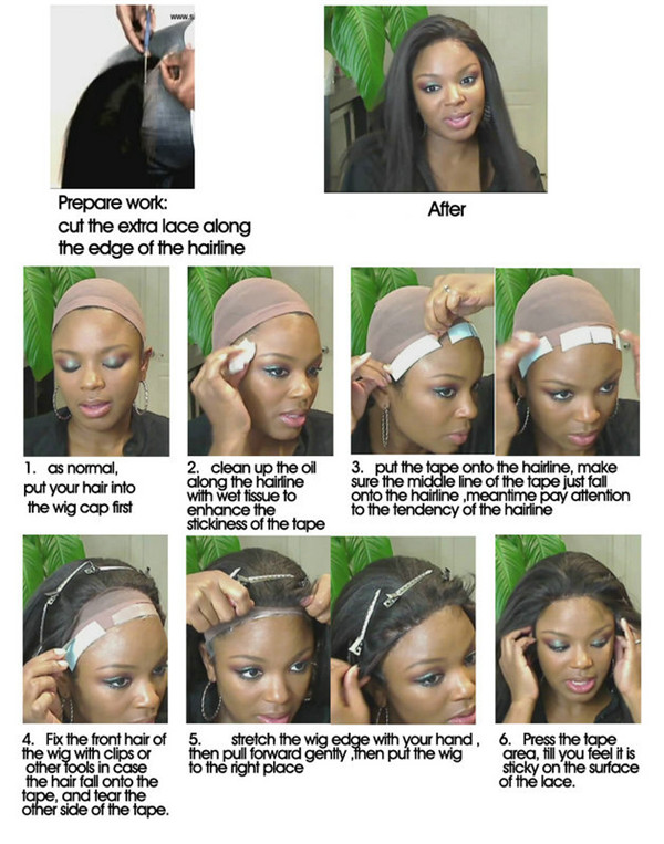 How To Put On A Wig And Make It Look Natural Unice