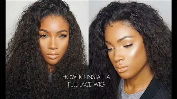 how to install your wig
