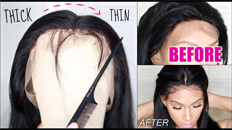 How to thin out a wig