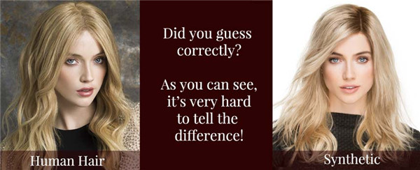 What is the difference between human hair wigs and synthetics