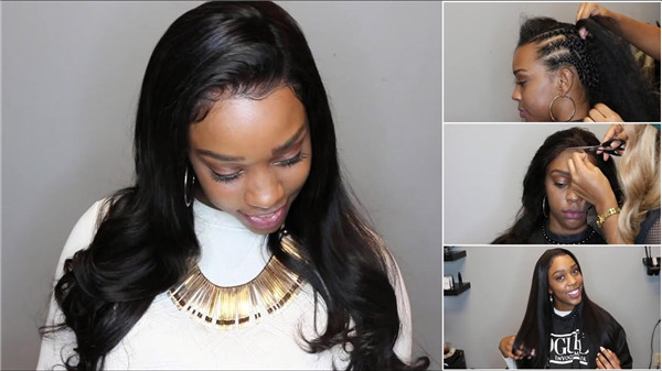 How to Install Full Lace Wig? | UNice.com
