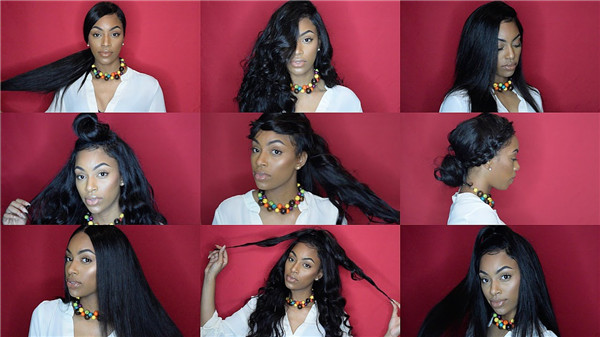 Install full lace wigs without glue
