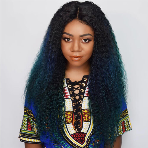 Blue Wigs for Black Women