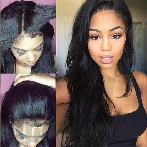 Wearing lace front wigs is very simple because they are stretchy and cover  the entire scalp area with a natural looking hair style. 8a4db053d