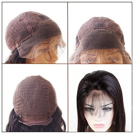 lace frontal with baby hair wig