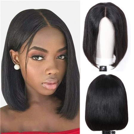 unice bob hair wig