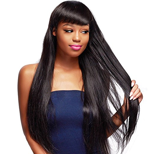 unice double weft straight hair weave