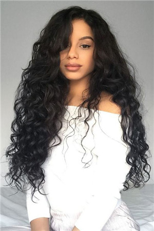 using some extensions blending with natural hair