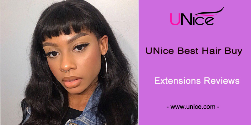 UNice best hair extensions reviews