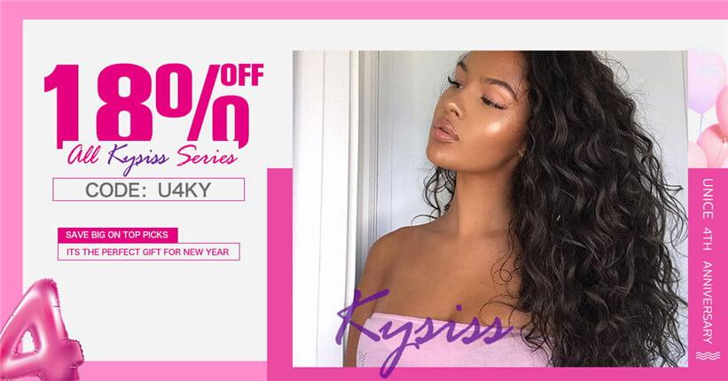 18% off for kysiss hair