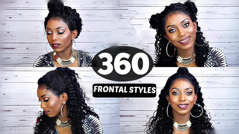 Different way to style 360 frontal