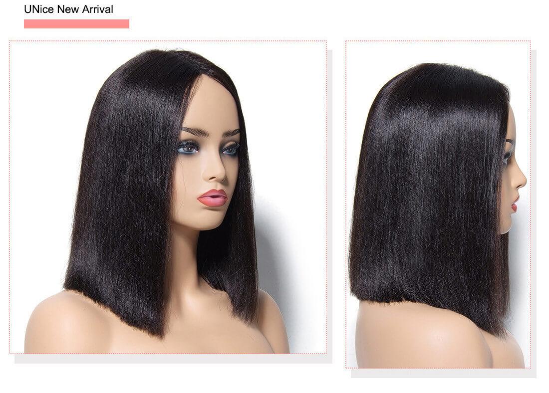 UNice Straight Bob Huamn Hair Wig