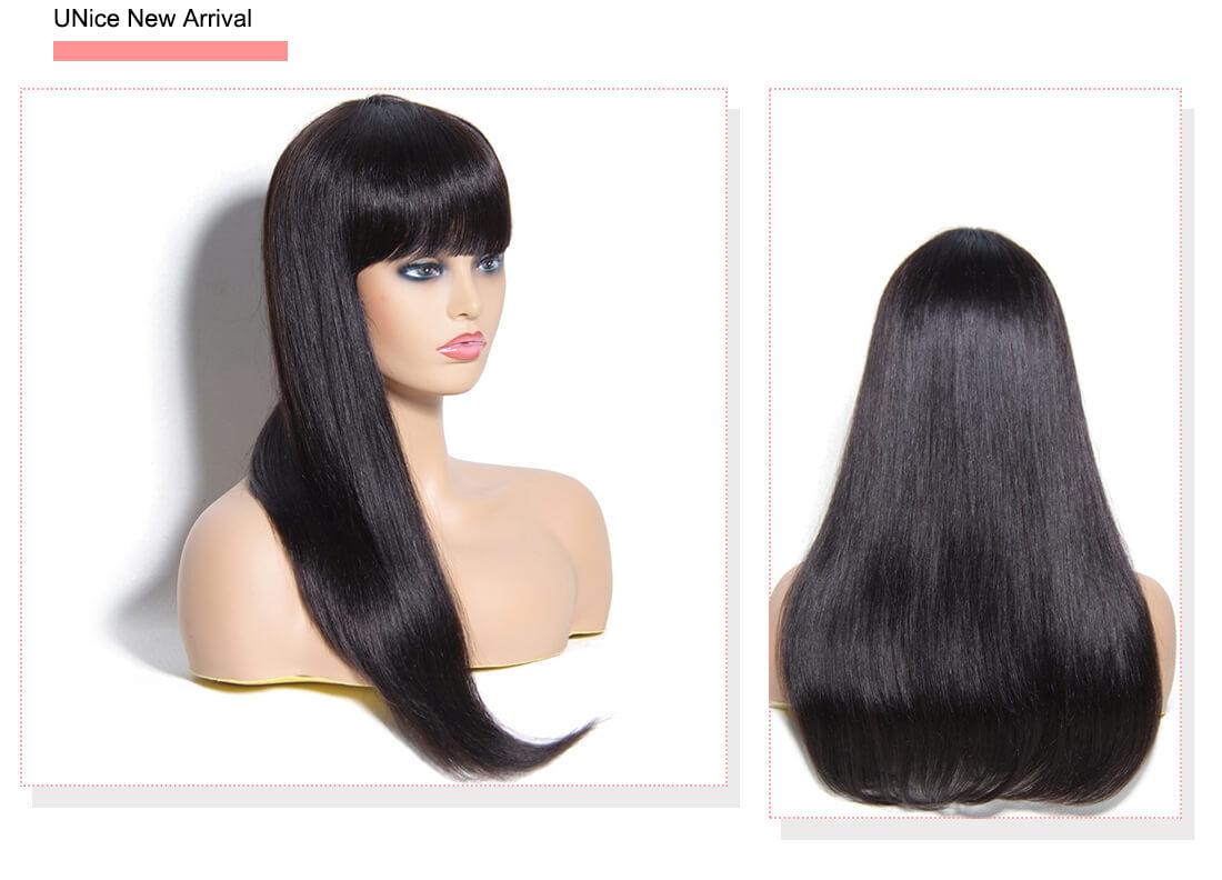UNice Straight Long Wig