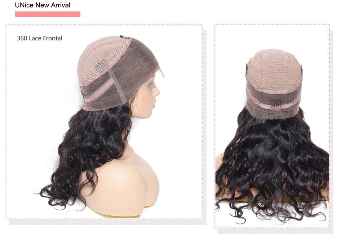 UNice Hair Bettyou Wig 360 Body Wave 360 Lace Frontal Wig