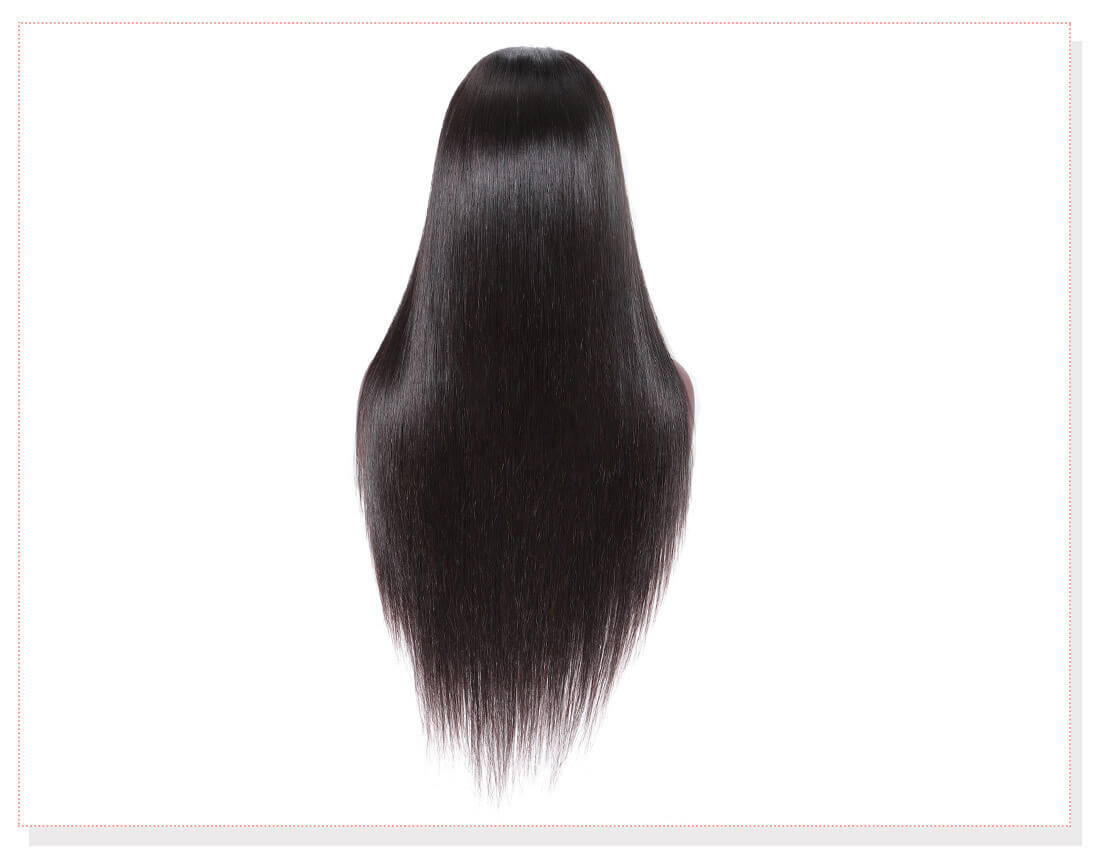 UNice Hair Bettyou Wig Serices 100% Virgin Hair Soft Long Straight Wig Density 150% And 180%
