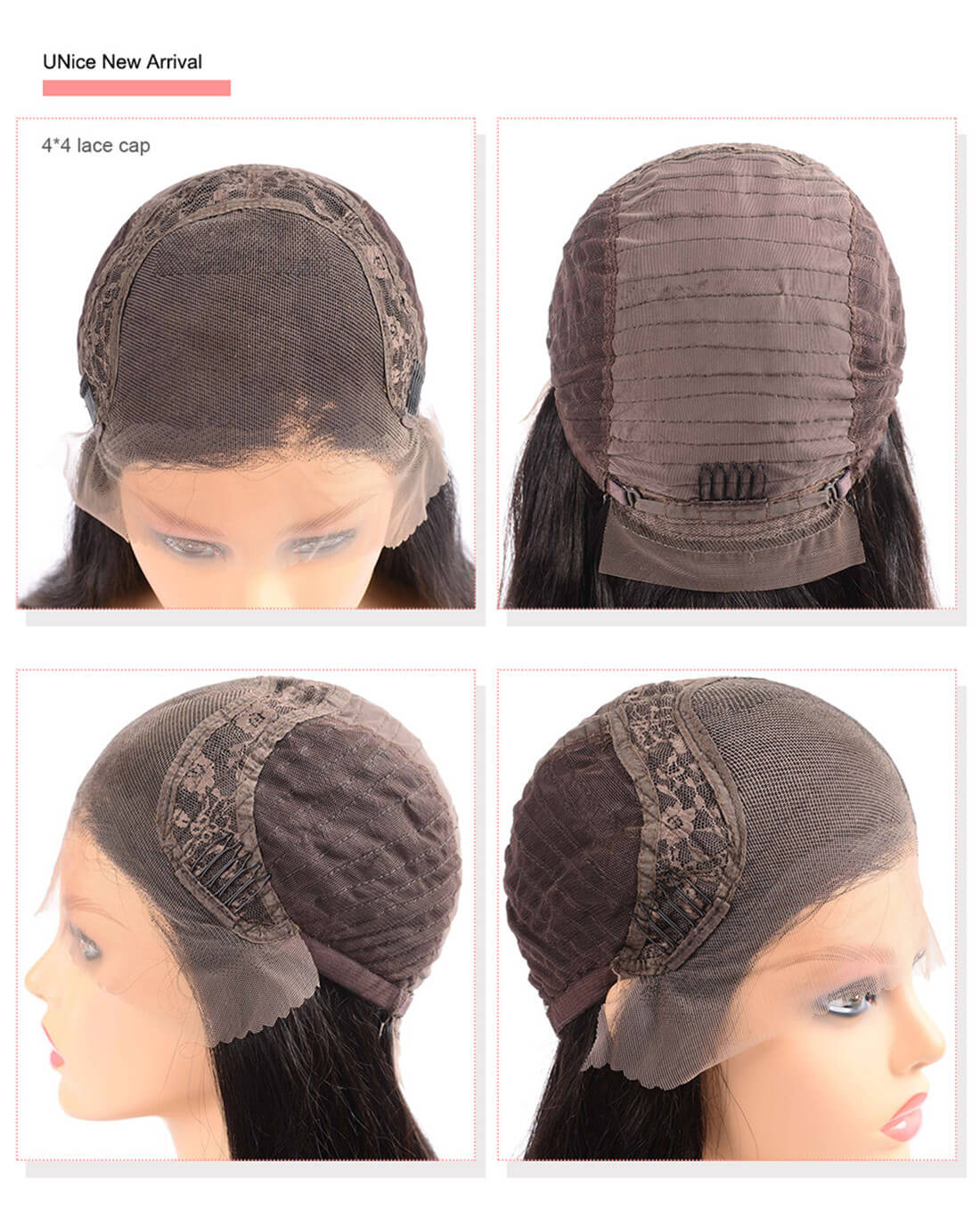 UNice Hair Bettyou Wig Serices 100% Virgin Hair Soft Long Body Wav Wig Density 150% And 180%
