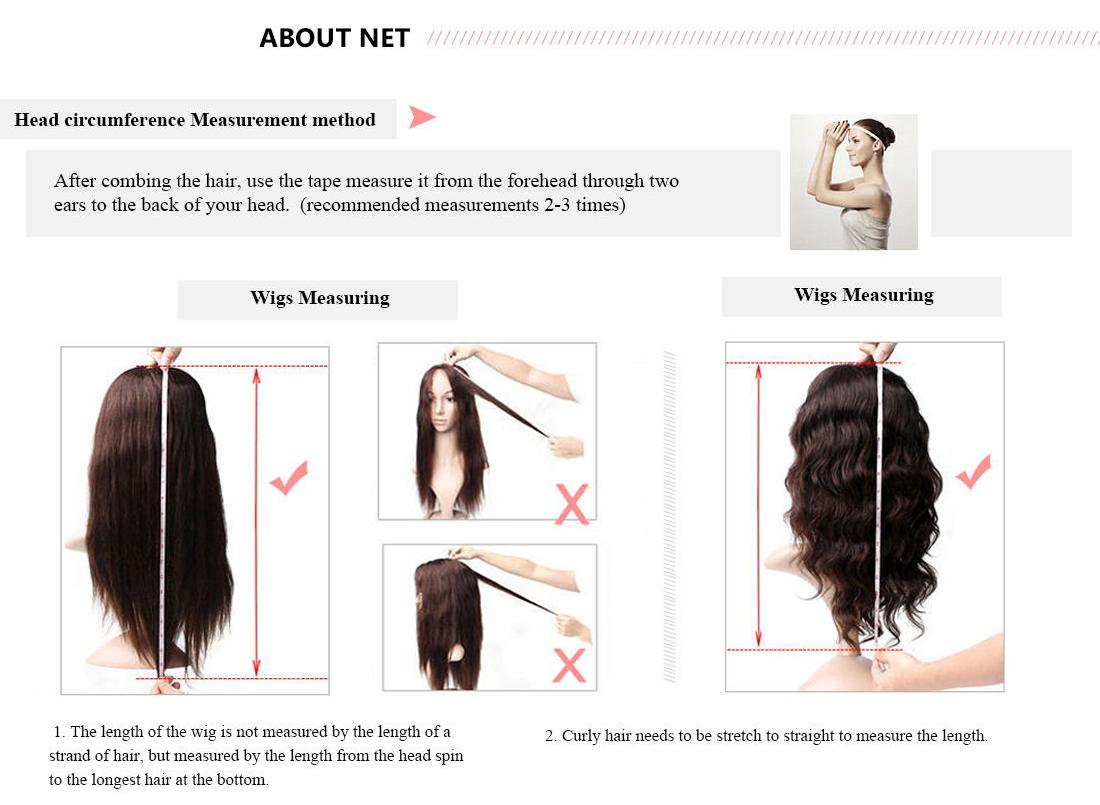 UNice Hair Bettyou Wig Measuring